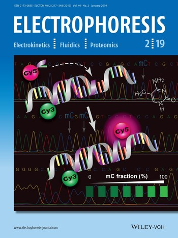 Article of Associate Professor Hashimoto (Faculty of Science and Engineering) et al. Appears on Front Cover of ELECTROPHORESIS for Third Consecutive Year